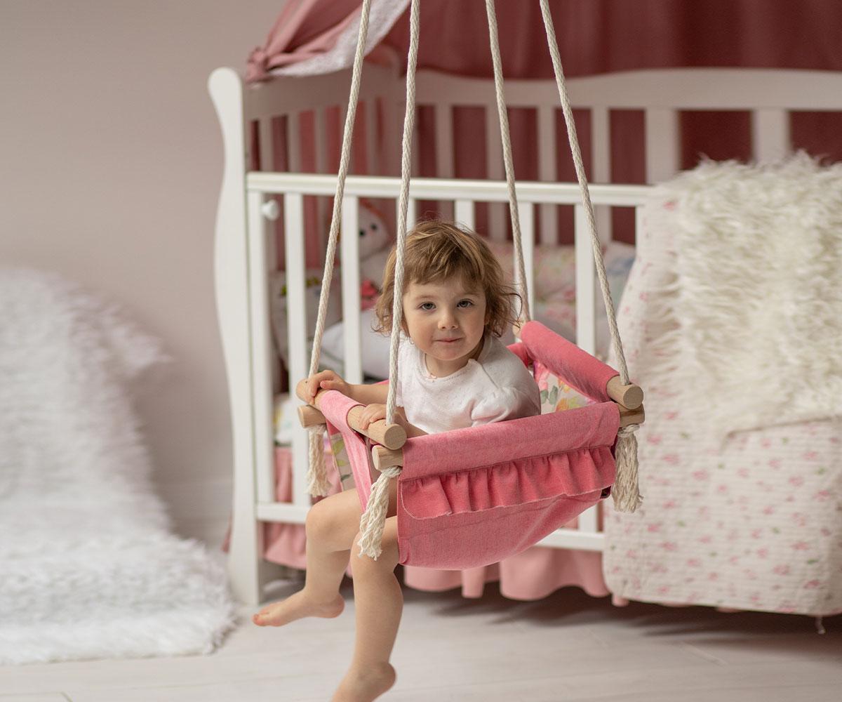 Kleinkind Schaukel Märchenwelt für Kinderzimmer • bei Bébé Fée